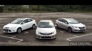 DRIVEN #4: Honda Civic vs Kia Cerato vs Ford Focus