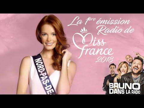 Miss France 2018 & Maitre Gims (18/12/2017) - Best Of Bruno dans la Radio