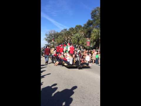 Christmas Parade, Folly Beach- Charleston, SC
