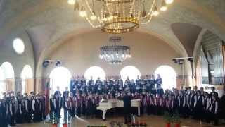 Tėvyne dainų ir artojų / Tautkaus m., Marcinkevičiaus ž., Miškinio aranž. chorui, Abario klav.