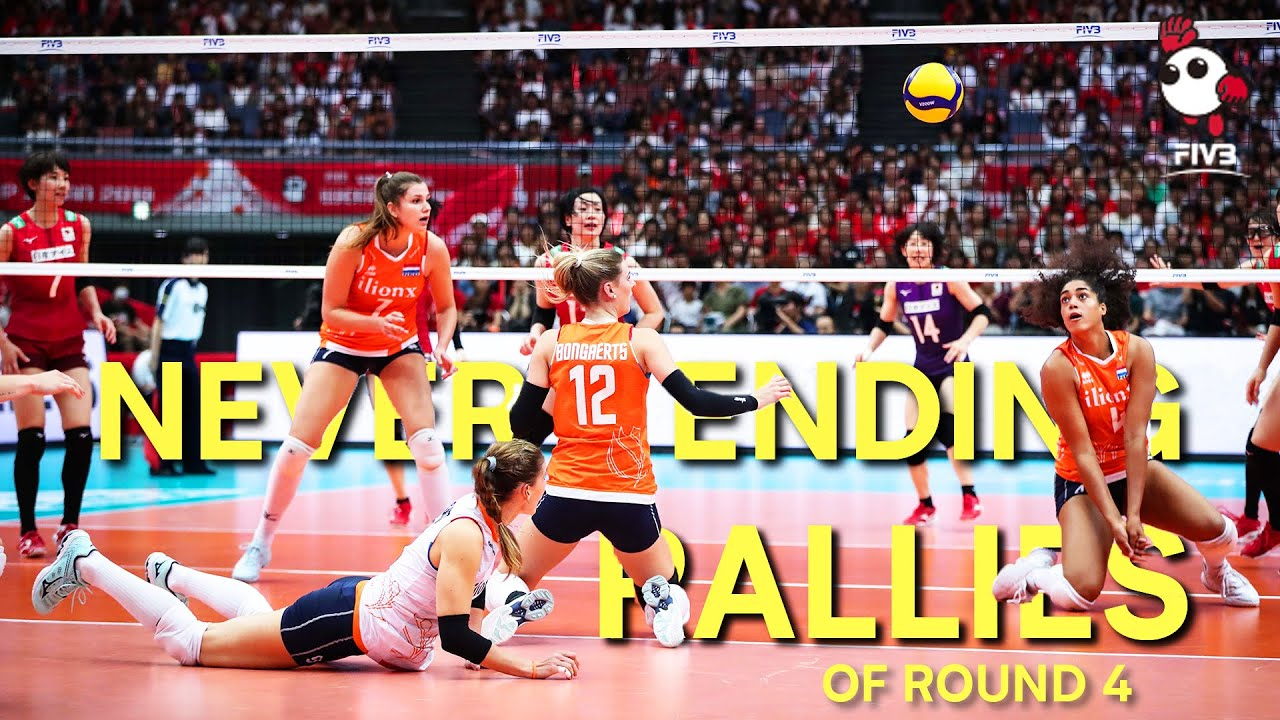 Best Never Ending Rallies Of The Final Round Women S Volleyball World Cup 2019 Youtube