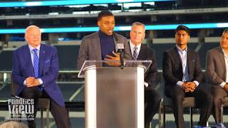 Errol Spence, Jerry Jones & Mikey Garcia preview Spence vs. Garcia (Full Dallas Press Conference)