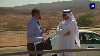 وفد قطري يزور منطقة البحر الميت