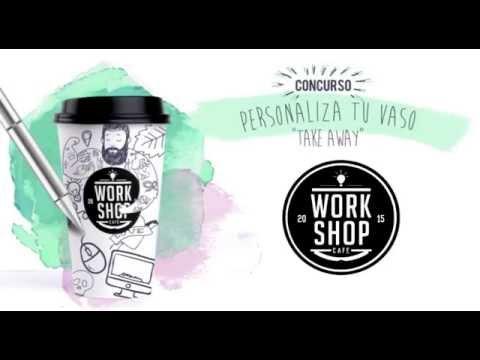 Personaliza Tu vaso Take Away WORKSHOP CAFÉ