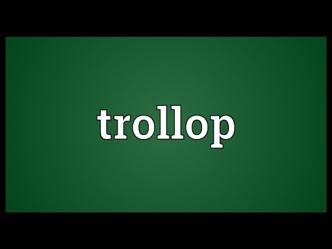 "Translations connected with ""trollop"""
