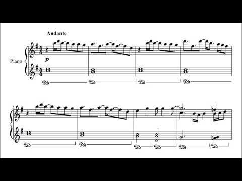 "Glenn's ""This Is Not Goodbye"" (audio + sheet music)"
