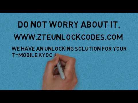 How to unlock T-MOBILE KYOCERA DURAFORCE PRO – Zte Unlock Codes