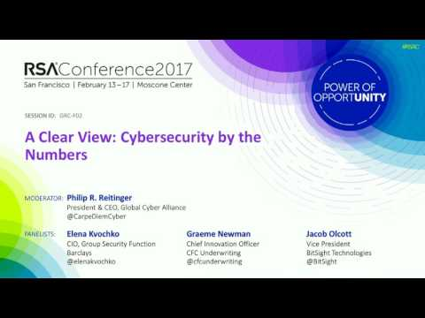 A Clear View: Cybersecurity by the Numbers