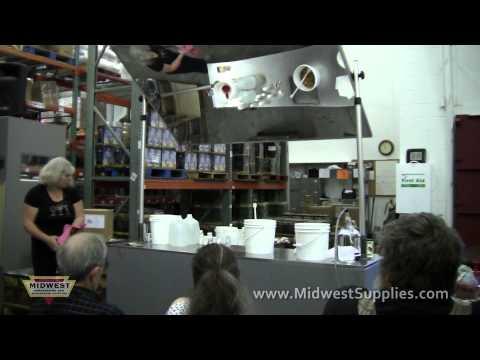 Fruit Winemaking Class - 6-4-2011 - Part 1