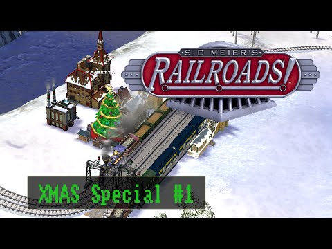 Sid Meiers Railroads - XMAS Special #01 - Holidays in Ohio [Deutsch / Full HD]