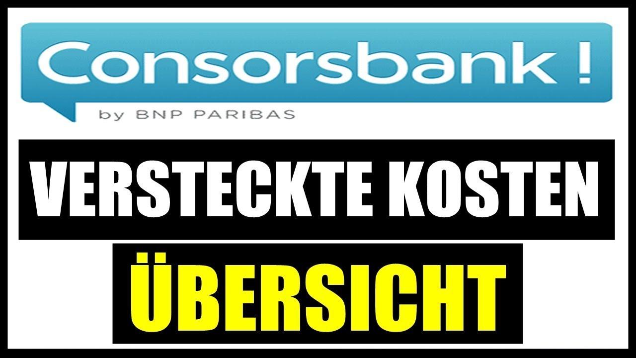 Ordergebühren Consorsbank