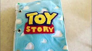 Handmade Toy Story Busy Book Flip Through & FAQ