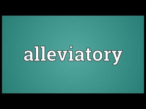 Header of alleviatory
