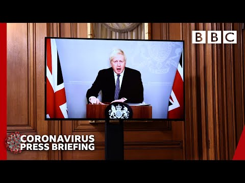 Covid: Tis the season to be jolly careful, Boris Johnson 🔴 @BBC News live - BBC