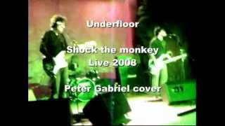 Underfloor - Shock the monkey - live Peter Gabriel cover - play at 480p