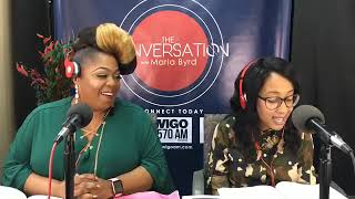 Special Guest Evangelist Cherise Stephens PT 1/2 - The Conversation with Maria Byrd