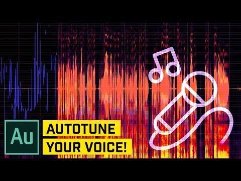 Autotune Your Voice (SINGING) in Audition CC