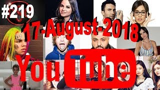 Today's Most Viewed Music Videos on Youtube, 17 August 2018, #219