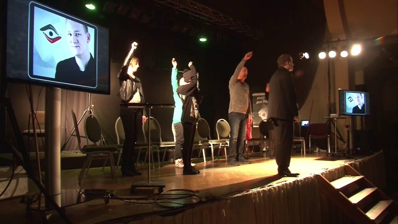 Christo Showhypnose- Hypnoseshow Gera 16.01.2016