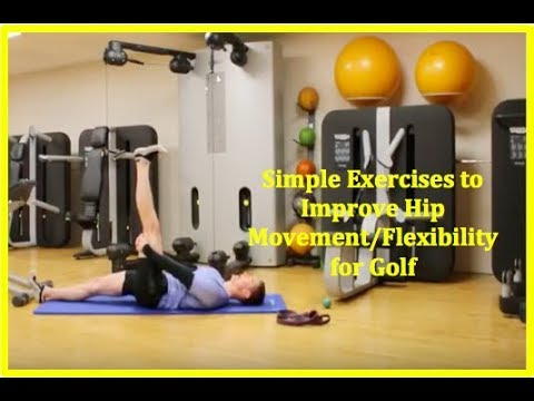 Golf Fitness: Simple Hip Movement/Flexibility/Stretches