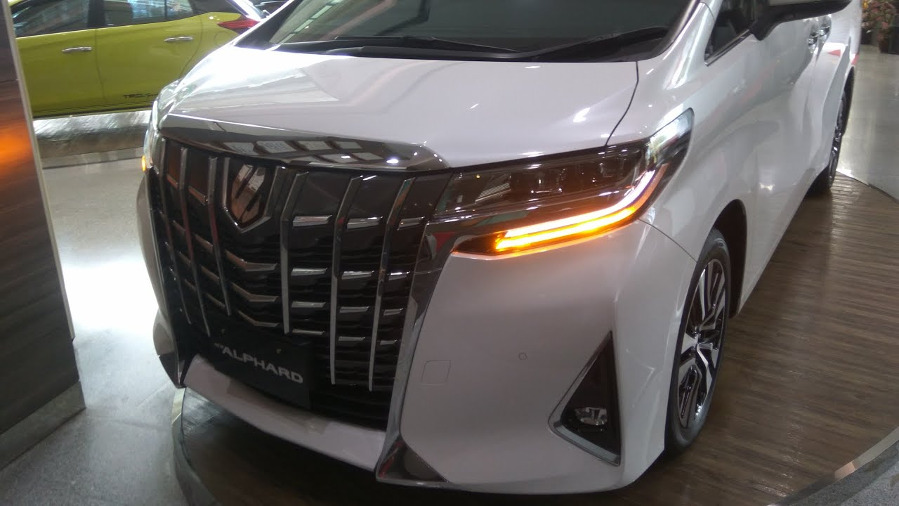 all new alphard 2018 indonesia lampu grand avanza toyota facelift 2 5 x a t in depth review