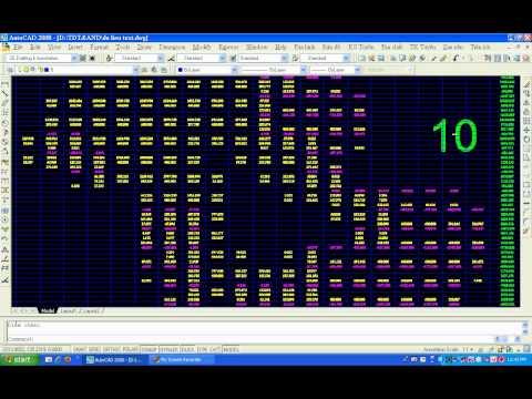 Video San nền trên phần mềm ANDDesign