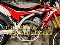 CRF250L Clutch Mod Judder Spring removal Review and Install Tips