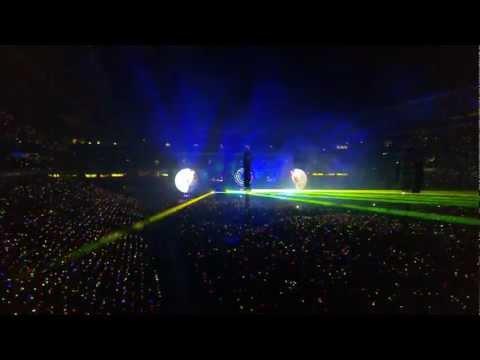 Opening Coldplay Concert in Brisbane