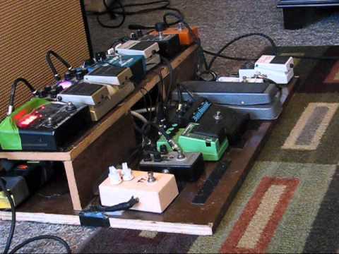 Mclguitars Com Black1 John Mayer Inspired Pedal Board