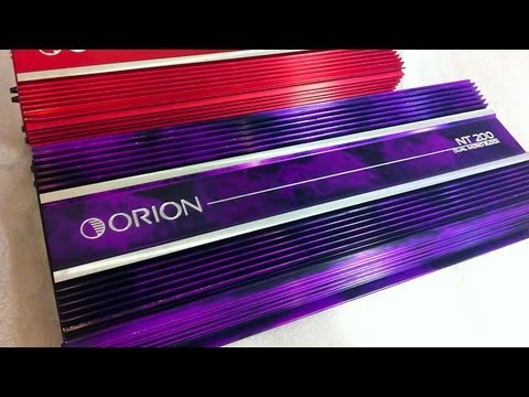 Old School Orion NT 200 Amp Special Edition Rare Amplifier Unboxing NT200 HCCA