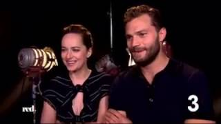red tv germany 12 questions to jamie dornan and dakota johnson