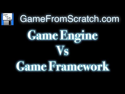 Game Engine Vs Game Framework -- When to Use Which?