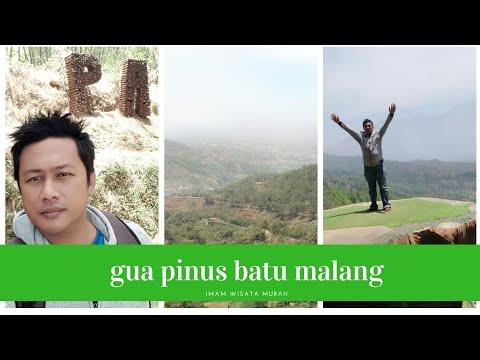 gua-pinus-batu-malang....selfie-background-gunung-arjuna