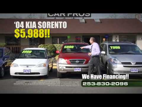 Car Pros Tacoma >> Car Pros Tacoma Used Car Specials Youtube