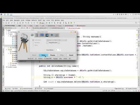 159 Android Studio SQLite insert data - ويتروو
