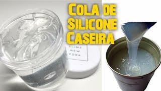 Cola De Silicone Caseira Com 1 Material