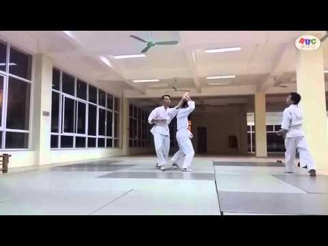 [Aikido Đống Đa] Practicing 20151229 - esp 12