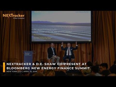 NEXTracker & D. E. Shaw Co-Present at Bloomberg New Energy Finance Summit