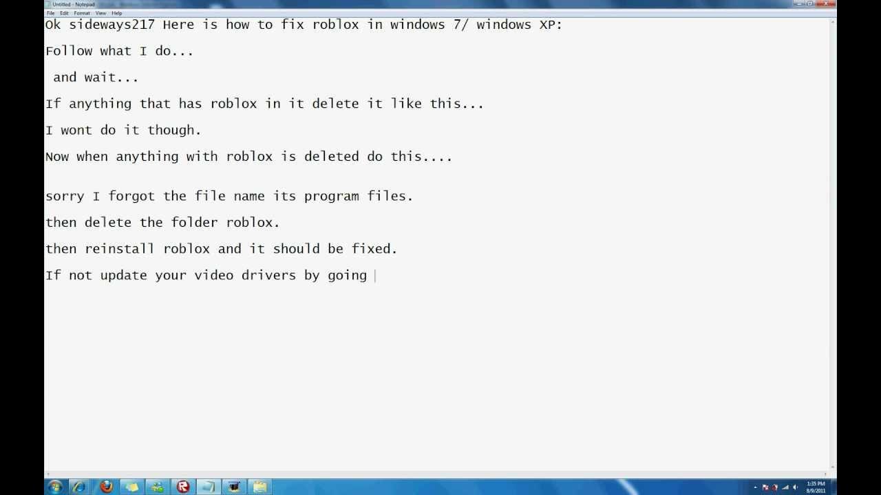 How To Fix Roblox Wont Start Error Youtube