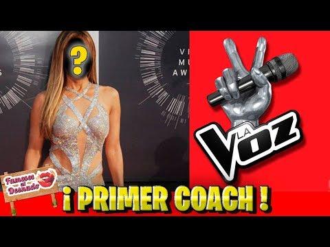 Anuncian primer Coach de la Voz México por Tv Azteca
