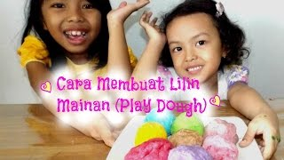 DIY ♥ Cara Membuat Lilin Mainan ( How to Make Homemade Play Dough) ♥ Mainan Anak | English Subtitles