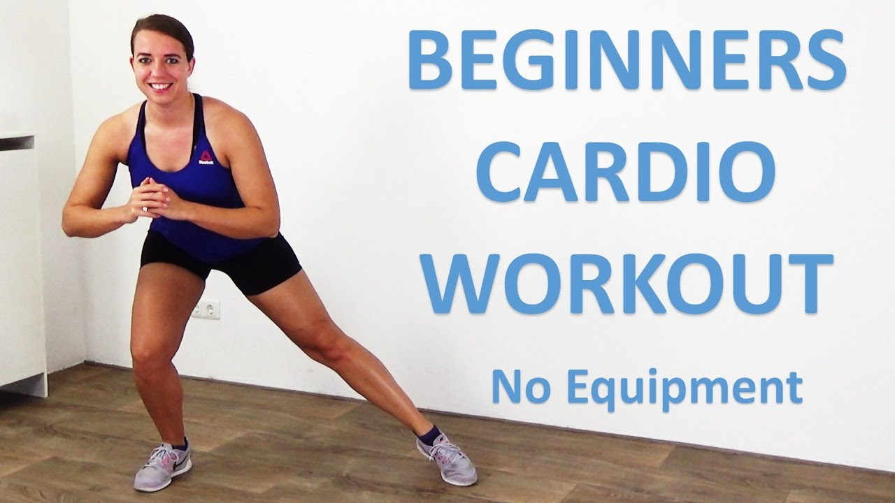 Workout at Home – 20 Minute Fat Burning Cardio Workout for Beginners at Home  – No Equipment - YouTube