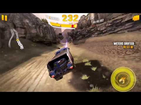 Asphalt Xtreme - Perlini Truck Gameplay