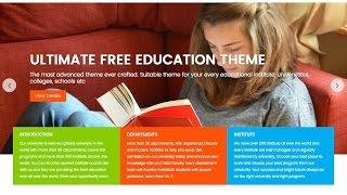 Education Base  WordPress Theme Demo Import