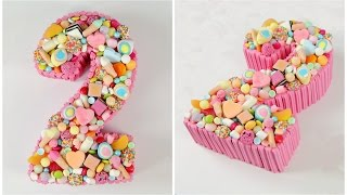 Decorate A Candy Number Cake - CAKE STYLE