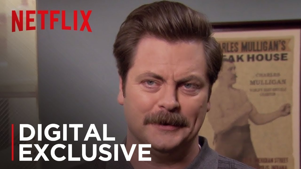 Ron Swanson\'s Life Lessons   Parks and Recreation   Netflix