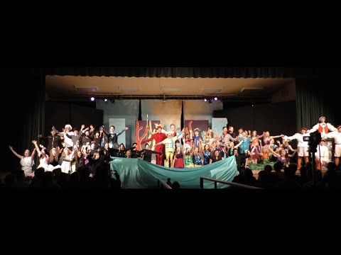 """""""The Little Mermaid"""" at Kalispell Middle School on March 5th, 2020"""