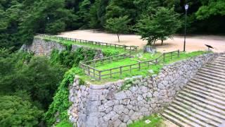 城めぐりの旅 16「鳥取城跡」 鳥取城 検索動画 23