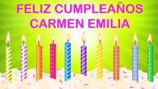 CarmenEmilia  Wishes & Mensajes - Happy Birthday