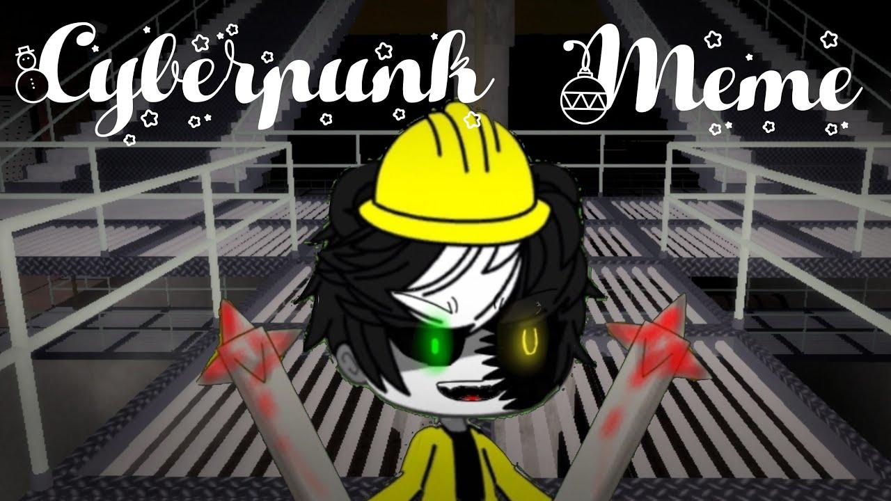 Download CYBERPUNK animation meme {Roblox piggy book 2 chapter 5} Gacha Life (FlipCalip)
